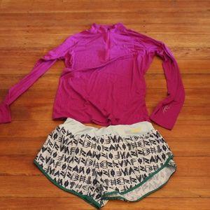 Small/Medium athletic clothes